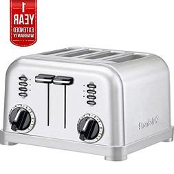 Cuisinart 4-Slice Metal Classic Toaster - Brushed Stainless