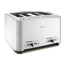 Breville 4-Slice Smart Toaster BTA840XL Die-Cast BRAND NEW