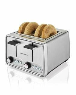 Cusimax 4 Slice Toaster Extra Wide Slot with BAGEL/DEFROST/C
