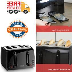4 Slice Toaster Extra Wide Toasting Slot 7 Setting Extra Lif