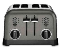 Cuisinart 4-Slice Toaster in Black Stainless Steel