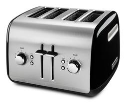 KitchenAid 4-Slice Toaster - KMT4115OB - Manual High-Lift Le