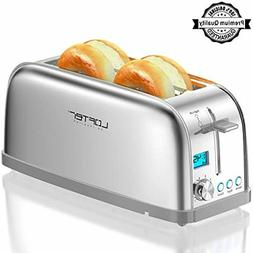 4 Slice Toaster LOFTer Long Slot Toasters Best Rated Prime S