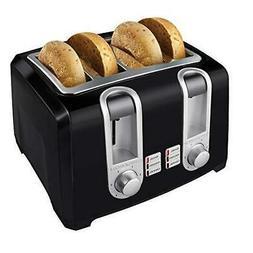 Black & Decker 4-Slice Toaster Model T4569B, Black, 1 ea