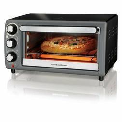 4 Slice Toaster Oven Countertop Kitchen Appliance Bake Rehea