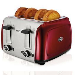 Oster 4-Slice Toaster, Red TSSTTR4SRD-NP