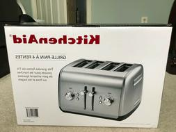 KitchenAid 4-Slice Toaster, Stainless Steel with Extra-Wide