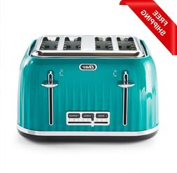 Oster 4 Slice Toaster Textured Design Chrome Accents Impress