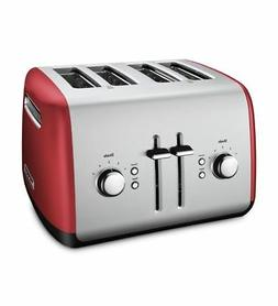 KitchenAid® 4-Slice Toaster with Manual High-Lift Lever, KM
