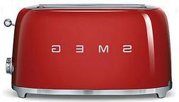 SMEG 50's Retro Style Aesthetic 4 Slice Toaster 1400W Electr