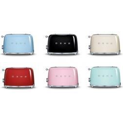 SMEG 50's Retro Style Electric Toaster 2 Slice  - TSF01 - Ch
