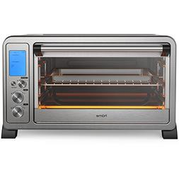 hOmeLabs 6 Slice Convection Oven Stainless Steel Countertop