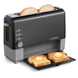 West Bend 77224 Quik Serve Slide Through Wide Slot Toaster w