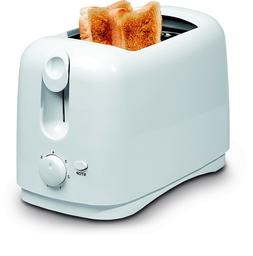 Uniware 8711WH Two Slice Wide Slots Toaster,750 Watts,Cool T