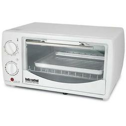 Better Chef 9 Liter Toaster Oven Broiler White Im-255w Bakes