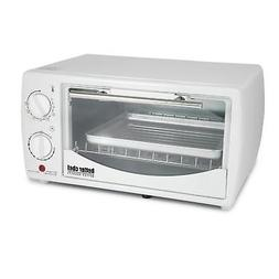 Better Chef 9 Liter Toaster Oven Broiler-White, NEW