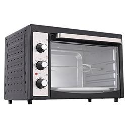 Costway 9-Slice Toaster Oven Broiler with Drip Pan, 1800W El