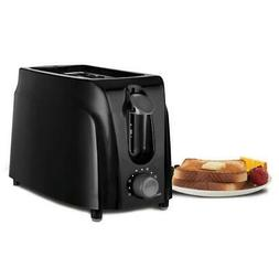 Brentwood - 2-slice Wide-slot Toaster - Black