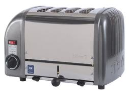 Cadco - CTW-4M - Mica 4 Slot Heavy Duty Toaster