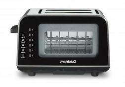 Cuisinart CPT-3000 ViewPro Glass 2 Slice Toaster, Black