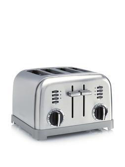 Cuisinart Electronic 4-Slice Steel Toaster