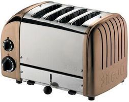 Dualit - Newgen 4-slice Extra-wide Slot Toaster - Copper