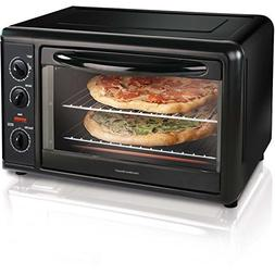 Hamilton Beach Countertop Toaster Oven with Convection, Blac