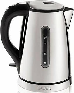 KRUPS BW730D Breakfast Set Electric Kettle with Brushed and