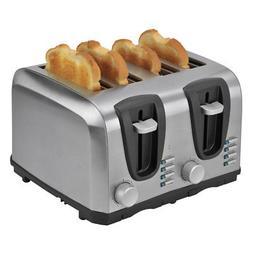 Kalorik 4 Slice Toaster, Stainless Steel, 1 ea