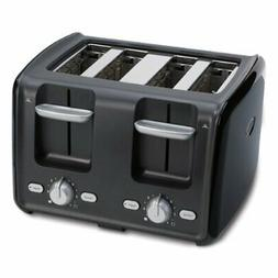 Oster 3905 4-Slice Retractable Cord Toaster, Black