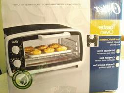 Oster Toaster Oven, 4 Slice, Black