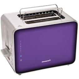 Panasonic NT-ZP1V Breakfast Collection 2-Slice Toaster, Stai