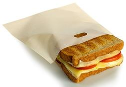 RL Treats Non Stick Reusable Toaster Bags for Sandwich and G