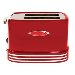 Retro Series '50s Style 2-Slice Toaster in Red