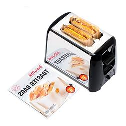 Toaster Bags  | Grilled Cheese Made Easy | Non Stick Reusabl