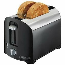 Applica/Spectrum Brands 22622 2 Slice Chrome Toaster, Black