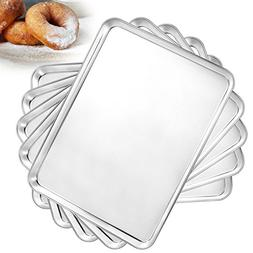 Bastwe Baking Pan Set of 5, Stainless Steel Toaster Oven Tra