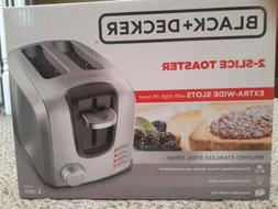 Black And Decker 2-slice Toaster Extra Wide Slots And High L