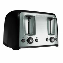 Black&Decker 4-Slice Toaster Extra-Wide Slots Home Breakfast