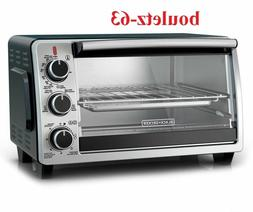 Black & Decker 6-Slice Convection Toaster Oven, TO1950SBD