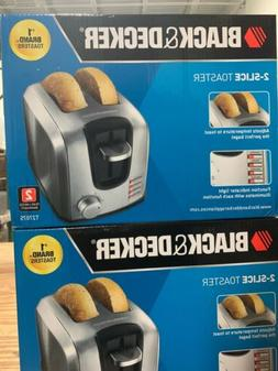 Black & Decker BD 2 Slice MPP Toaster SS