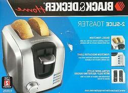 BLACK & DECKER T2707S 2-Slice Brushed  Stainless Steel Toast