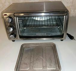 BLACK & DECKER Toast-R-Oven Electric Toaster Oven Convecti