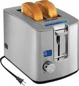 Black & Decker - Two Slice Toaster - Brushed Stainless Steel