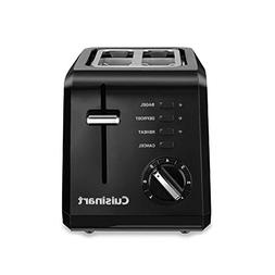 Cuisinart Black Compact Cool-Touch 2-Slice Toaster