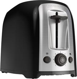BLACK+DECKER 2-Slice Extra Wide Slot Toaster, Classic Oval,