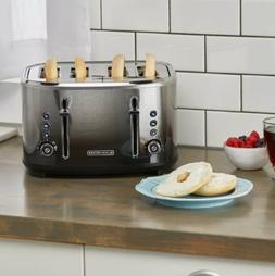 Black + Decker 4 Slice Toaster
