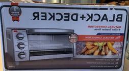 BLACK + DECKER 4 Slice Toaster Oven - Stainless Steel
