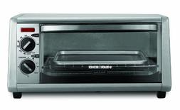 Black & Decker B&D To1430s Stainless Toaster Oven 4Slice Cou