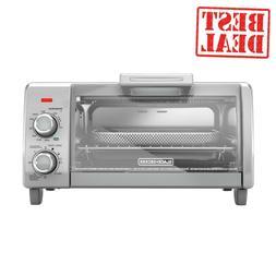BLACK+DECKER Crisp 'N Bake Air Fry 4-Slice Toaster Oven, T